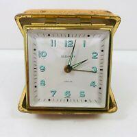 Vintage Elg-Art Travel Alarm Clock Spares &/Or Repairs Restoration German