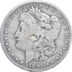 Early - 1891-O Morgan Silver Dollar - 90% US Coin *939
