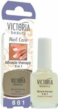 VICTORIA BEAUTY NAIL HARDNER 8 in 1  miracle therapy  12 ml., Fast  Delivery
