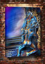 Erotic fantasies Cartoon Gay Art Deco Oil painting HD Print On Canvas