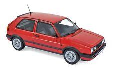 Norev188438 - coche Deportivo Volkswagen golf II GTI 1990 de color rojo