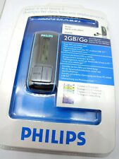 Philips SA4020/02 2GB Flash Digital Audio MP3 WMA Music GoGear Player BLACK NEW