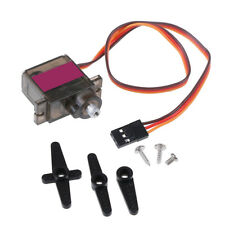 1pcs 90S micro metal gear 9g servo for RC plane helicopter boat car 4.8V 6V -.