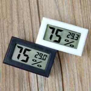 Digital LCD Humidity Meter Sensor Thermometer Gauge Hygrometer Room Temp.UK SELL