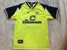 Borussia Dortmund nr 10 Nike Home Football Shirt 1995-1996
