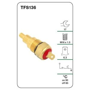 Tridon Thermo Fan Switch TFS136 fits Ford Festiva 1.3 (WA), 1.3 i (WB), 1.3 i...