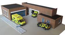Kingsway, 00 scale, Modern Ambulance station, Kit build service.