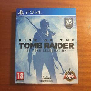 Rise of the Tomb Raider - 20 Year Celebration - Artbook Edition - PS4 - Used