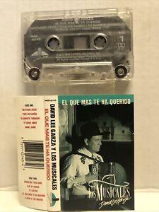 """David Lee Garza y Los Musicales """"El Que Mas Te Ha Querido"""" 1990 Capital EMI"""