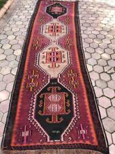 1980s Vintage Handmade Turkish Kilim Rug