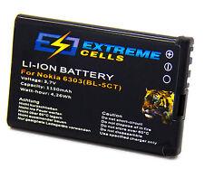 Extremecells Akku BL-5CT für Nokia C5-00 C6-01 Accu Battery Batterie
