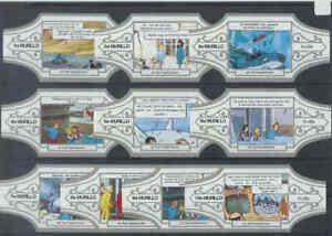 10 sigarenbandjes Kuifje / TinTin - Het Haaienmeer (1w) - Lees !!!