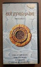 WHITESNAKE - Trilogy. PAL. VHS.