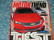 MOTOR TREND magazine  july 2013  world's fastest convertable , the BIG TEST  D3