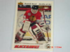 91-92 UD HOCKEY DOMINIK HASEK ROOKIE FRENCH