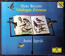 Anatol UGORSKI: MESSIAEN Catalogue d'Oiseaux 3CD DG 1994 La Fauvette des jardins