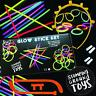 Box Set 206 Piece Glow Sticks Glasses & Bunny Ears - Neon Colour Party Festival