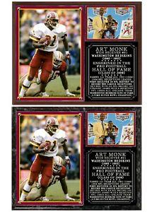 Art Monk #81 Washington Redskins Photo Plaque