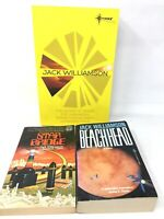 3 Book Lot - 6 Novels by JACK WILLIAMSON Science Fiction SciFi Sci Fi SF