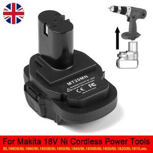 Adaptor MT20MN Power Source Converter For Makita 18V Ni Cordless Power Tools HOT