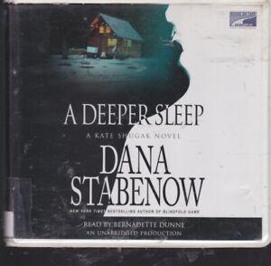 A DEEPER SLEEP by DANA STABENOW~UNABRIDGED CD'S AUDIOBOOK