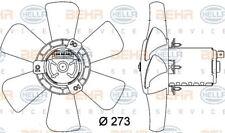 8EW 009 144-401 HELLA Fan Radiatore