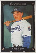 2007 UD MASTERPIECES BILLY BUTLER 5X7 JUMBO BOX TOPPER RARE! ROYALS