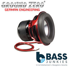 "Ground Zero Nuclear GZNW 12Xmax 12"" 30cm 3000 watts RMS 2x1OHM Car Sub Subwoofer"