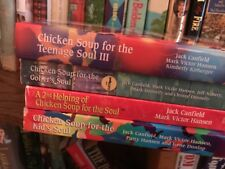 Lot Of 4/chicken Soup Books