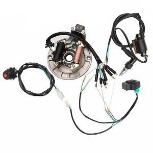 Complete 125cc WIRING HARNESS Kit Ignition Magneto XR50 CRF50 SDG SSR Taotao
