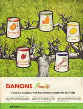 Publicité   //   DANONE  fruité