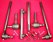 Chev 1963 - 1964 Inner & Outer Tie Rod Ends with Sleeves (6pc set) Belair Impala
