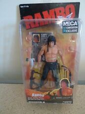 Neca 2015 SDCC Exclusive John Rambo pas Rocky figurine Stallone Entièrement neuf dans sa boîte