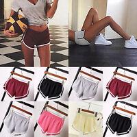 Summer Women Sports Pants Shorts Gym Workout Waistband Skinny Yoga Fitness
