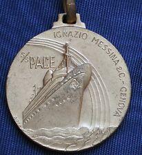 """MEDAGLIA STEAM SHIP """"PACE"""" IGNAZIO MESSINA CROCIERA ESPRESSO ITALIA --> ISRAELE"""