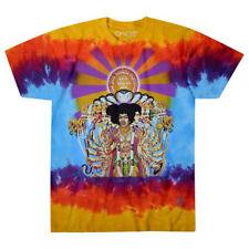 Jimi Hendrix-Axis Bold As Love-Large Tie Dye  T-shirt