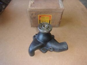 1936 37 38 39 40 41 42 46 47 Hudson 6 & 8 Cylinder NORS WATER PUMP Made In USA