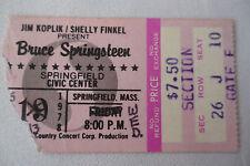BRUCE SPRINGSTEEN Original 1978__CONCERT TICKET STUB__w/ NEWS ARTICLE