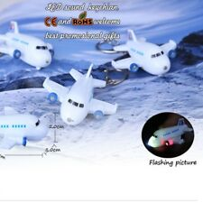 Aircraft Key Chain Ring with LED Light and Sound Lovely Keychains