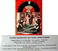 EP Hans Arno Simon: Intime Tanzmusik (Telefunken UX 4631) D