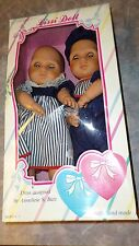 Vintage Lissi Doll Two Hearts Collection Twins NEW IN BOX Boy Girl German Doll