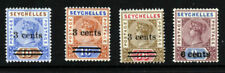 Lightly Hinged Seychellois Colony Stamps (Pre-1976)
