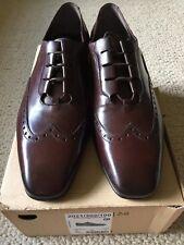 Zara Man brown Blucher shoes NIB