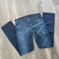 Citizens of Humanity Womens Size 28 (US 6) Ava Jeans Straight Leg Low Rise Waist