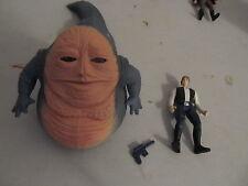 """Star Wars POTF2 Han Solo & Jabba """"Beast Assortment"""" COMPLETE MINT"""