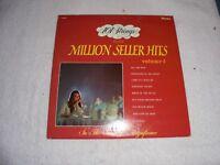 101 Strings Play Million Seller Hits Volume 1 (Vinyl 1967 Budget)  ORG 33 LP