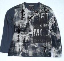 T-Shirt    DESIGUAL  ELIUT Grey   Taille XXL
