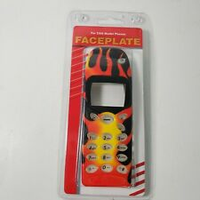 Nokia 5100 Face Plate Flames /Fire Design +  Silicone Key Covers