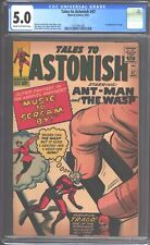 Tales to Astonish #47 CGC 5.0 (1963) - Ant-Man & Wasp - 1st appearance of Trago