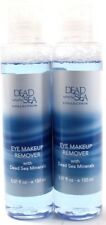 2 Dead Sea Eye Makeup Remover with Dead Sea Minerals 5oz Bottles